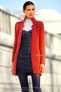 Elegantní pletený kabátek | PLETENÍ – NÁVODY