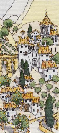 Spanish Hill Town II - Michael Powell
