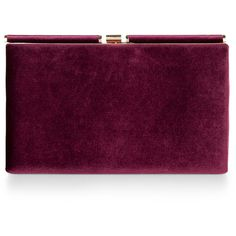 Monsoon Archer Velvet Clutch Bag ($68) ❤ liked on Polyvore featuring bags, handbags, clutches, purses, bolsas, purple handbags, clasp purse, velvet purse, purple purse and velvet handbag