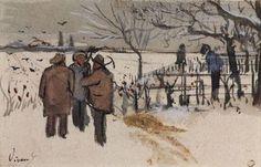 Vincent van Gogh, Minatori nella Neve