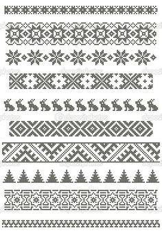 Thrilling Designing Your Own Cross Stitch Embroidery Patterns Ideas. Exhilarating Designing Your Own Cross Stitch Embroidery Patterns Ideas. Fair Isle Knitting Patterns, Fair Isle Pattern, Knitting Charts, Loom Patterns, Knitting Stitches, Loom Knitting, Free Knitting, Knitting Machine, Vogue Knitting