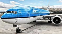 KLM, a great airline.