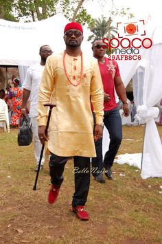 Jude Okoye and Ify Traditional Igbo Wedding in Anambra African Inspired Fashion, African Men Fashion, African Fashion Dresses, African Women, Mens Fashion, African Attire For Men, African Wear, African Dress, African Clothes