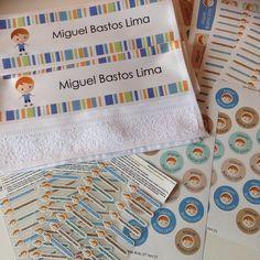 Adesivos, transfer e toalhinhas personalizadas. Produzido por FabeeStore! Encomende: http://www.fabeestore.com.br/