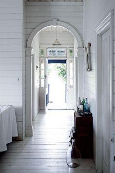 Homelife - Dressmaker's white vintage interior in the Byron Bay hinterland