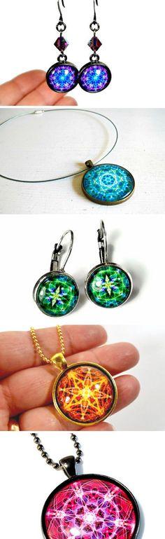 Find your vibrant CHAKRA mandala art jewelry here: https://www.etsy.com/shop/BluKatDesign?search_query=mandala