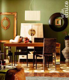 Verde per il soggiorno etnico