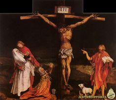 Crucifixión, Grünewald, 1512-16, Museo de Unterlinden