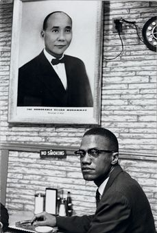 Malcolm X, 1961 by Henri Cartier-Bresson