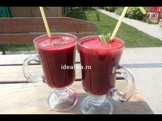 Reteta Smoothie detoxifiant - YouTube Nutribullet, Hurricane Glass, Kitchen Appliances, Mai, Tableware, Diy Kitchen Appliances, Home Appliances, Dinnerware, Tablewares