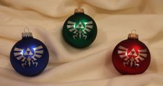 Zelda Christmas ornaments