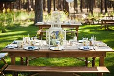 Our farm table rentals, available in Oregon for your rustic/ vintage/ vineyard/ barn wedding!
