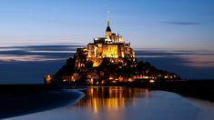 Mont St. Michel, France.  I don't know how I've not gotten there yet. Near or at the very top of my list...