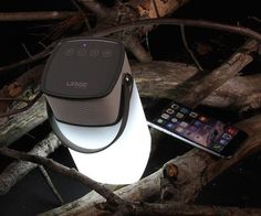 Perfect accessory for your night time music hours! #speaker #lantern