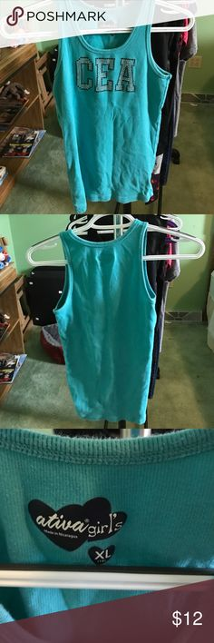 CEA tank kids XL -kids XL Cheer Extreme tank -ribbed -worn a bunch but still in good condition Cheer Shirts & Tops Tank Tops