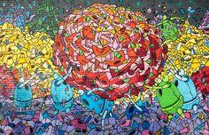 Artist: Robots Will Kill - 5 Must See Murals In Williamsburg, Brooklyn - artsnapper