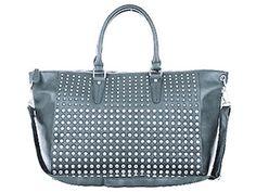 LivingSocial Shop: Grey Elegant Studded Bag