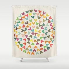 Love is All Around shower curtain - $68
