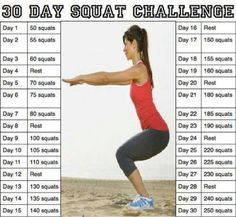Doing it this month (May 2013)  30 day sqaut challenge