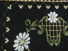 papatya desenli kaneviçe seccade modeli