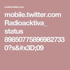 mobile.twitter.com Radioacktiva_ status 898507758969827330?s=09