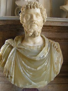Bust of Emperor Septimius Severus. Capitoline Museums