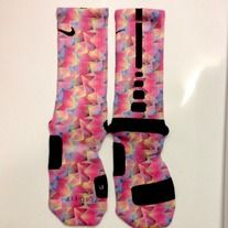 """""""Bright ZigZag"""" Custom Nike Elite Socks by Sock Insanity. #storenvy #sockinsanity **Sock sizing is based on shoe size.  Small is for youth 3-5, and ladies 4-6.  Medium is for youth 5-7, mens 6-8, and ladies 6-10.  Large is for ladies 10-13, and mens 8-12.  X-Large is for mens 12-15. Nike Shoes Tumblr, Nike Shoes Outfits, Under Armour Outfits, Nike Under Armour, Nike Elite Socks, Nike Socks, White Nike Shoes, Air Max Women"""