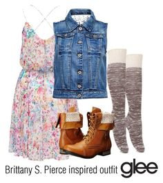 Brittany S. Pierce inspired outfit/Glee by tvdsarahmichele on Polyvore featuring Forever New, ONLY, With Love From CA and Charles Albert
