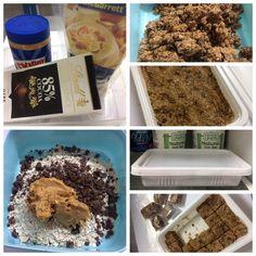 Peanut butter - oat granula
