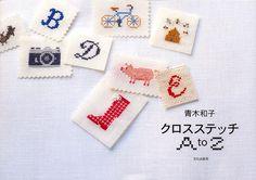 Kazuko Aoki Cross Stitch A to Z