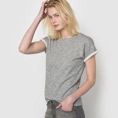 T-shirt mesclada SOFT GREY