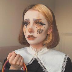 Edgy Makeup, Eye Makeup Art, Clown Makeup, Makeup Inspo, Makeup Inspiration, Halloween Face Makeup, Cool Makeup Looks, Creative Makeup Looks, Cute Makeup