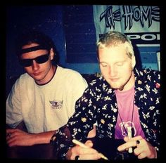 Layne and Jerry, 1993