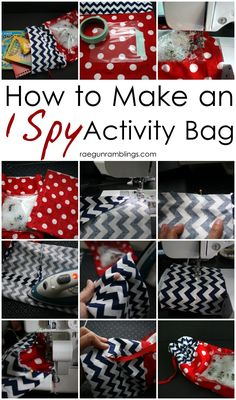 Keeping kids busy on the go can be a bit tricky! This DIY I Spy activity bag will keep the kids entertained and engaged! Spy Kids, Diy For Kids, Crafts For Kids, Babysitting Activities, Toddler Activities, Toddler Games, Family Activities, Indoor Activities, Summer Activities