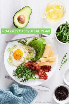 Keto Diet Meal Plan and Menu for Beginners to Lose Weight Keto Diet Plan Vegetarian, Ketogenic Diet Food List, Ketogenic Diet For Beginners, Diets For Beginners, Keto Meal Plan, Vegetarian Recipes, Diet Foods, Fruit Diet, Ketogenic Girl