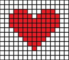 DIY Cross-Stitched Card - Picture of Simple Cross-Stitch Patterns Picture of Simple Cross-Stitch Patterns Picture of Simple C - Tiny Cross Stitch, Easy Cross Stitch Patterns, Cross Stitch Heart, Cross Stitch Cards, Simple Cross Stitch, Cross Stitch Designs, Cross Stitching, Cross Stitch Embroidery, Cross Heart