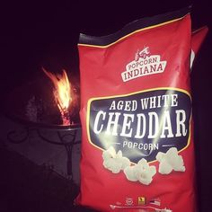 Just add a cozy blanket and some ghost stories, and you've got the perfect fall evening! Thanks for sharing this with us, @blessedx2611! #Regram #bonfire #FallNights #fire #AgedWhiteCheddar #RealCheese #PopcornIndiana #GlutenFreeSnacks #popcorn #WholeGrain #gf #cheddar #BlueCheese #GlutenFreeSnacks #MeTime #celiac #realfood #delicious #SnacksMomsLove #SnacksKidsLove #PlantBased #NomNomNom #gf #vegetarianfood #ohNomNomNom #vegetarian #VegetarianSnacks #VegetariansOfIG #share