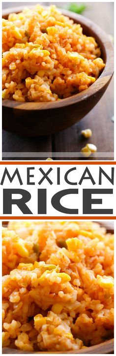 Mexican Rice... This recipe is THE BEST! It is so flavorful and makes an excellent side dish for any Mexican meal!