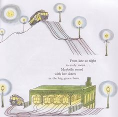 Maybelle the Cable Car - Illustration by Virginia Lee Burton