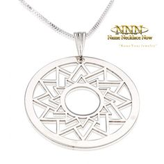 """/""""BEST FRIENDS/"""" Affirmation .925 Solid Sterling Silver Circle Charme Band Pendentif"""