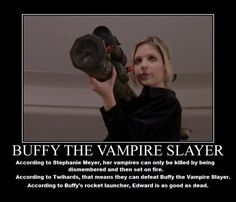 Buffy wins.
