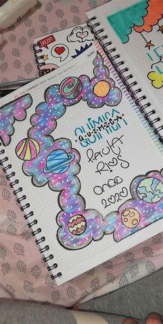 Bullet Journal Banner, Bullet Journal Lettering Ideas, Bullet Journal Books, Bullet Journal School, Bullet Journal Ideas Pages, Bullet Journal Inspiration, Book Journal, File Decoration Ideas, Page Decoration