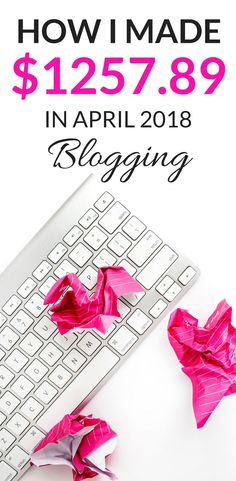 How I made $1257 blogging this month and the ways I made money blogging in my income report. In my blog income reports I break down my strategy on making an income from blogging an dhow to make money from your blog either for business from home or for extra money for your finances through ads and affiliate marketing. #blogging #blogincomereport #incomereport #blog #bloggingforbeginners #bloggingtips #affiliatemarketing