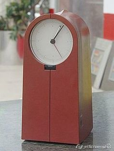 Philippe Starck 'Coo Coo' clock radio for Alessi    Very rare  'ALESSI'  CLOCK  RADIO  >>COO COO<<  designed by Philippe Starck    Used But in Excellent Condition        This video belongs to item itself. Please Watch it.    http://vimeo.com/39579304