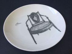 Qantas Noritake Plate Bone China Bonasera Chairs Design Collectible Rare Find #Noritake #Plate