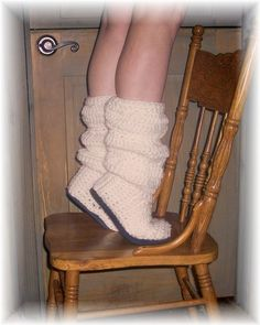 Crochet Boots Pattern --- SLOUCH BOOTS {Instant Download}