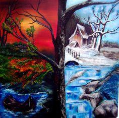All Four Seasons | weenart weenart four season from karen burville artist four season ...