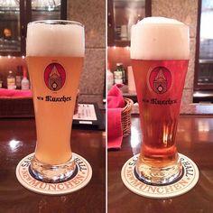 レストラン ニューミュンヘンの地ビールレストラン併設の施設で醸造しています #beer #beerbar #craftbeer #kobe #hyogo #兵庫