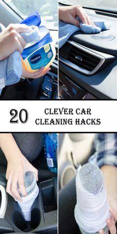 Detail Car Cleaning, Diy Car Cleaning, Cleaning Car Upholstery, House Cleaning Tips, Diy Cleaning Products, Cleaning Interior Of Car, Car Life Hacks, Car Hacks, Hacks Diy