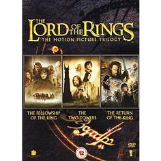 The Lord Of The Rings Trilogy - DVD Box Set